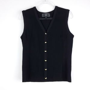 St. John Sport Black sweater Vest